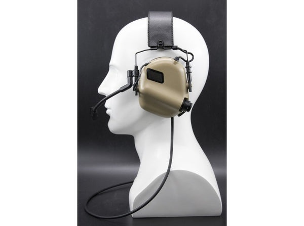 Earmor Tactical Hearing Protection Ear-Muff M32-MOD1 (2018 New Version) Tan