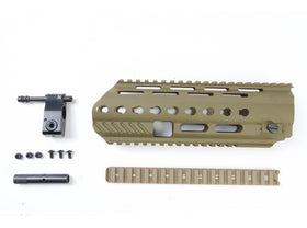 Angry Gun L85A3 Conversion Kit for G&G AEG Version (included Rail System, Top Rail, Gas Block & Gas Piston)