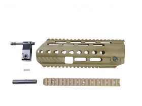 Angry Gun L85A3 Conversion Kit for WE GBB Version (included Rail System, Top Rail, Gas Block & Gas Piston)