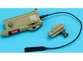 G&P PAQ IV Laser Sight with Pressure Switch (Sand)