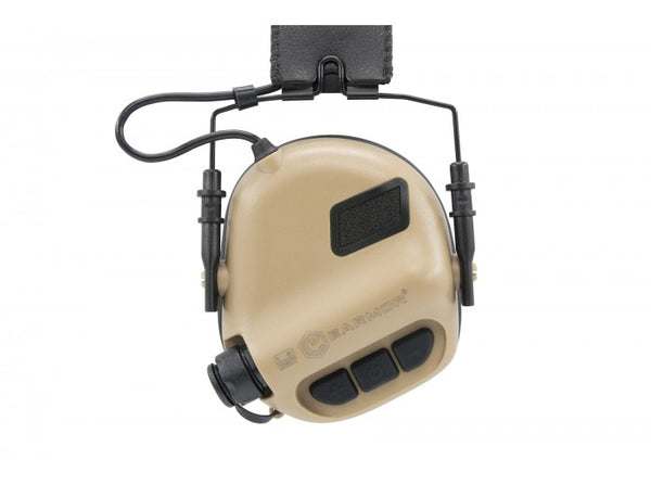 Earmor Hearing Protection Ear-Muff M31-MOD1 (2018 New Version) Tan