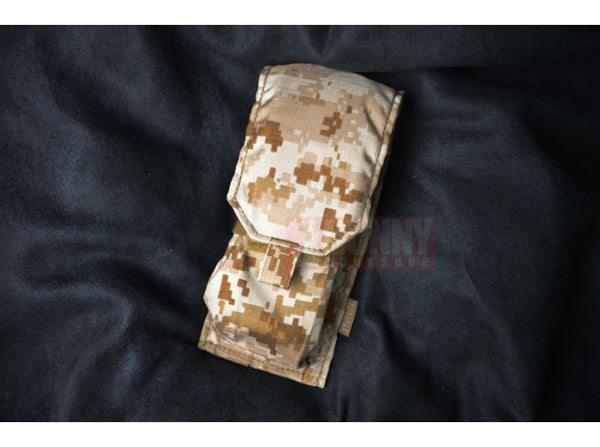 May Flower - Single M4 Dual Mag Pouch (Digital Desert)