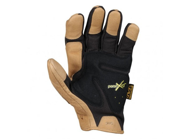 Mechanix Wear Gloves, CG Padded Palm, Black/Leather (Size S)