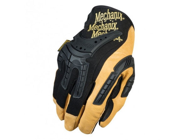 Mechanix Wear Gloves, CG Heavy Duty, Black/Leather (Size L)