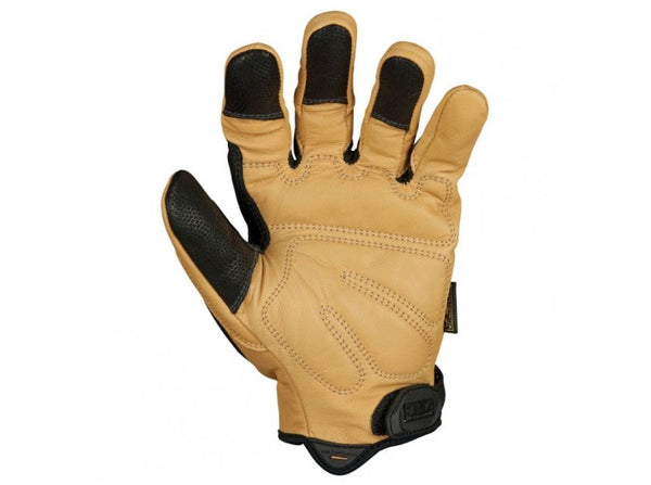 Mechanix Wear Gloves, CG Heavy Duty, Black/Leather (Size M)