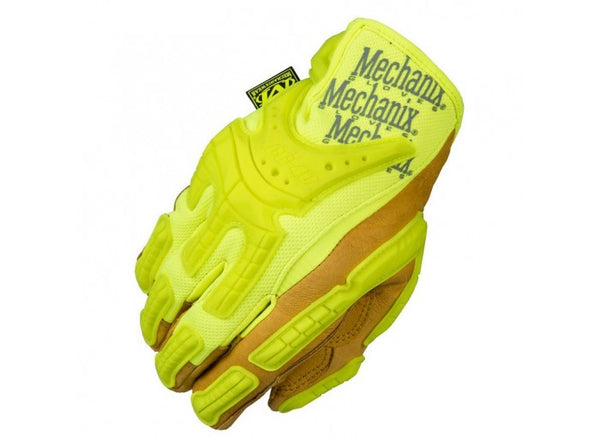 Mechanix Wear Gloves, CG Heavy Duty, HiViz Yellow (Size S)
