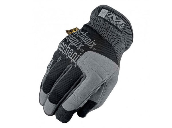 Mechanix Wear Gloves, Padded Palm, Black (Size M)