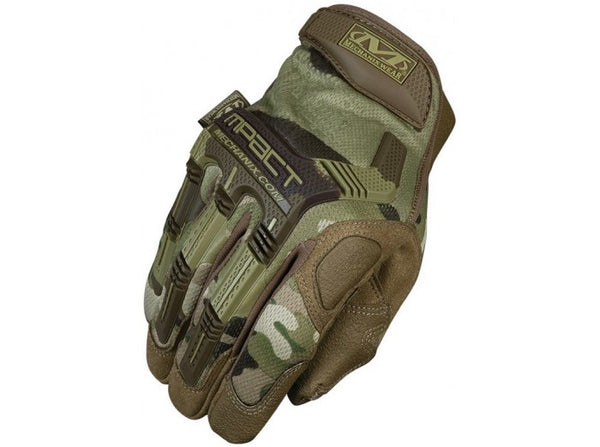 Mechanix Wear Gloves, M-Pact, MultiCam (Size L)