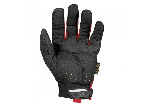 Mechanix Wear Gloves, M-Pact - Red/Black (Size S)