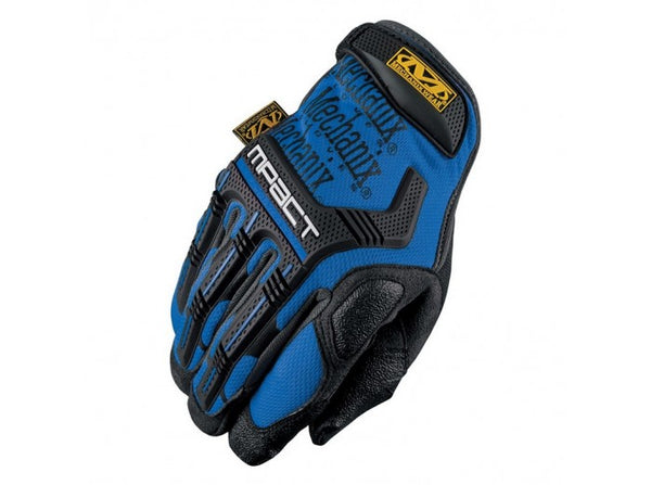 Mechanix Wear Gloves, M-Pact - Blue (Size L)