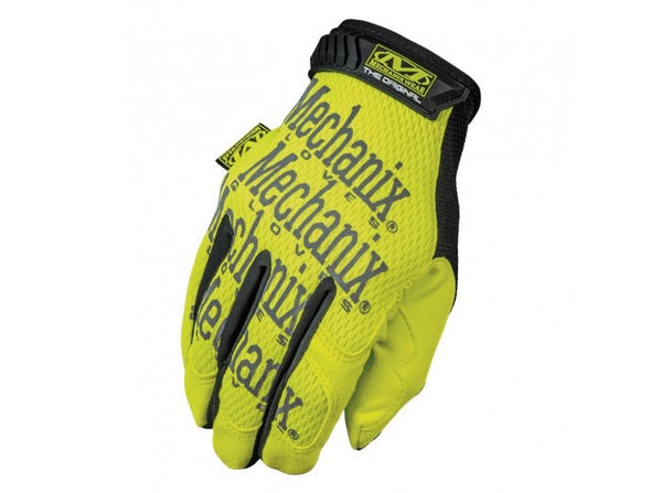 Mechanix Wear Gloves, Safety Original - Yellow (Size S)