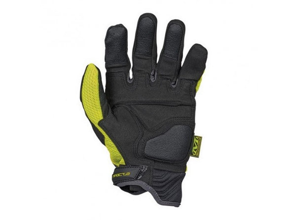 Mechanix Wear Gloves, Safety M-Pact2 - Yellow (Size XL)
