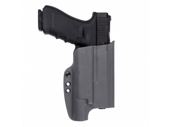 G-CODE - OSL Standard Kydex Holster (Glock 17 With INFORCE APL / Right Hand / RTI Hanger) Grey