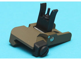 G&P Flash QD Flip Up Steel Front Sight (Low Profile, Sand)