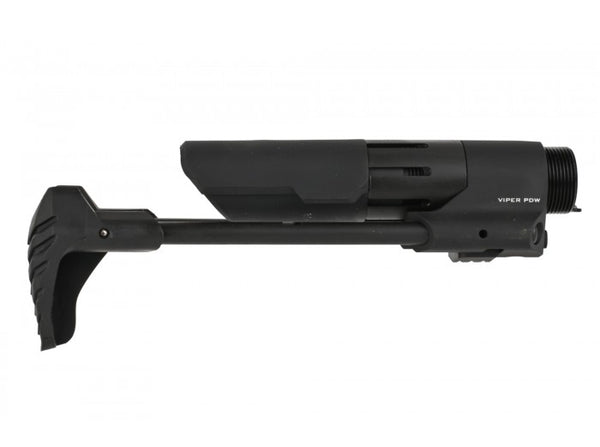 Strike Industries Viper PDW Stock For Airsoft AEG (G&P / Black / Madbull Licensed)