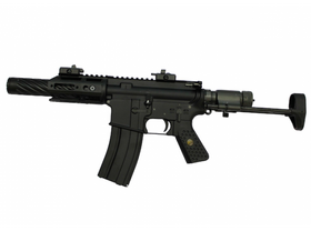 WE R5C-AIR Compact type Assault Rifle AEG (Black)