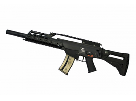 WE 999 RAS Assault Rifle AEG SD Version with IDZ Kit (Black)