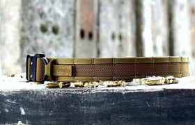 RICONTACTICAL - Tactical Belt (Dark Coyote)