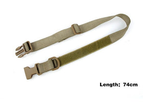 TMC Large Tactical Dog Collar 17-23 Inch ( Khaki )