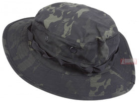 TRU-SPEC Military NYCO Boonie Hat (Multicam Black, Size 7-1/4)