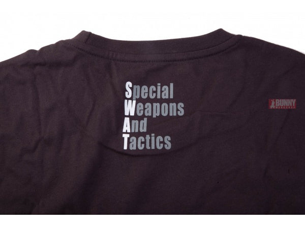 TRU-SPEC Military Style BLACK SWAT T-Shirt - Size XL