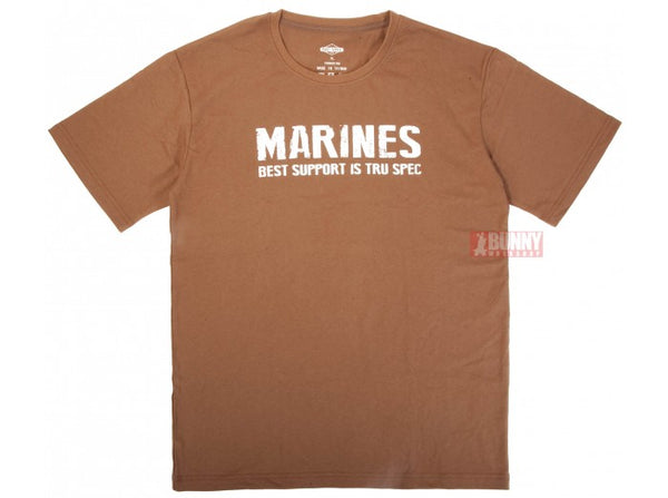 TRU-SPEC Military Style COYOTE MARINE T-Shirt - Size XL