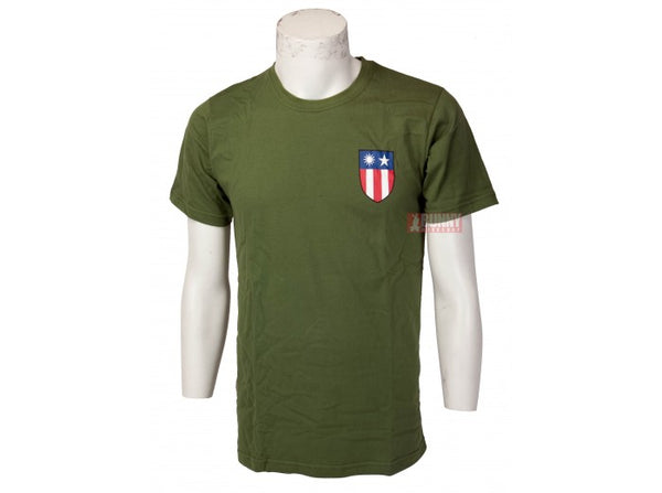 TRU-SPEC Flying Tiger Limited T-Shirt (Olive Drab) - Size S