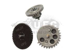 UFC CNC Steel AEG Gear Set - 100:200 High Torque Version