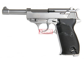 WE P38 L Classic Pistol w/ LED Case (Silver)
