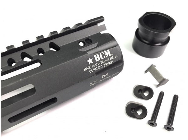 FCC MCMR Style 10 Inch Rail M-LOK Airsoft Ver for GBB (Black)