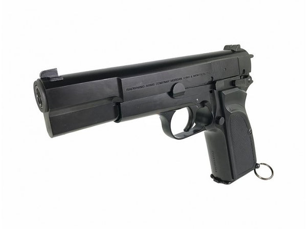 WE Browning Hi-Power MK3 MKIII GBB Pistol Airsoft (Black / Custom Marking)