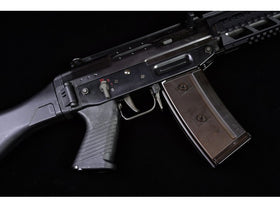GHK SG 553 Tactical Gas Blow Back Airsoft Rifle (QPQ Coating)