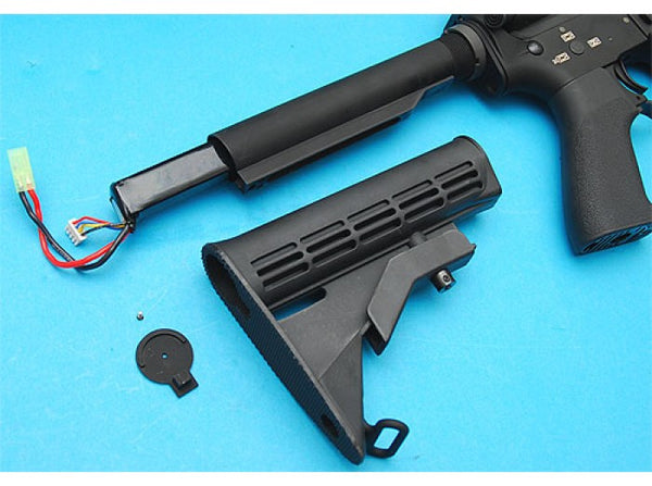 G&P 6 Position (Lithium Battery) Stock Pipe for M4 / M16 AEG