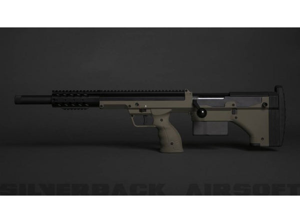 Silverback SRS A1 Sport (20 inches) Push Bolt Licensed by Desert Tech - FDE (Left Hand)