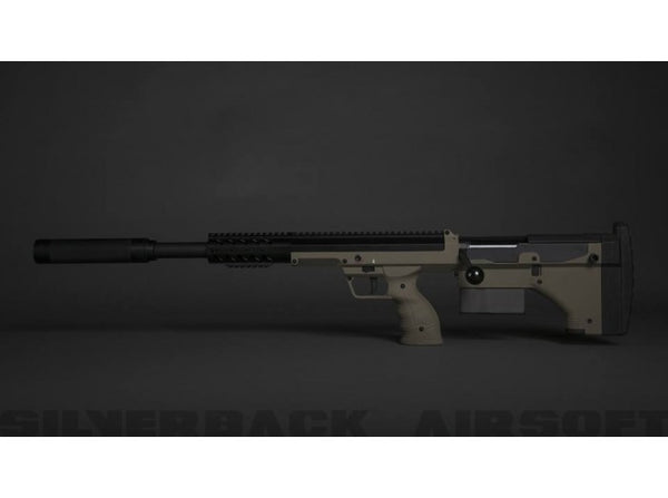 Silverback SRS A1 Sport (20 inches) Pull Bolt Licensed by Desert Tech - FDE (Left Hand)