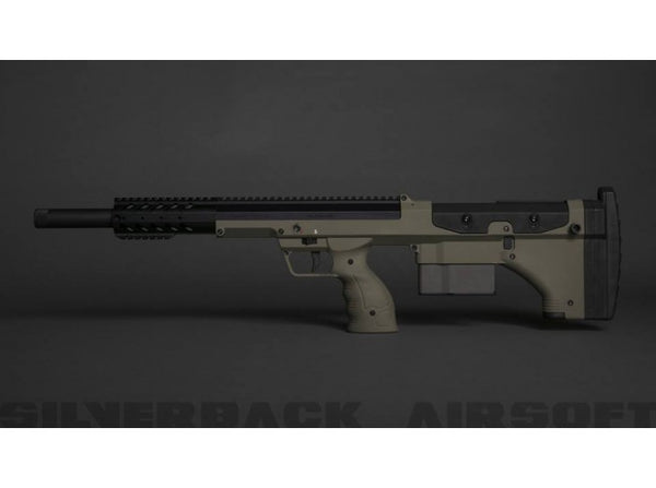 Silverback SRS A1 Sport (20 inches) Pull Bolt Licensed by Desert Tech - FDE (2018 New Version Gen 3)