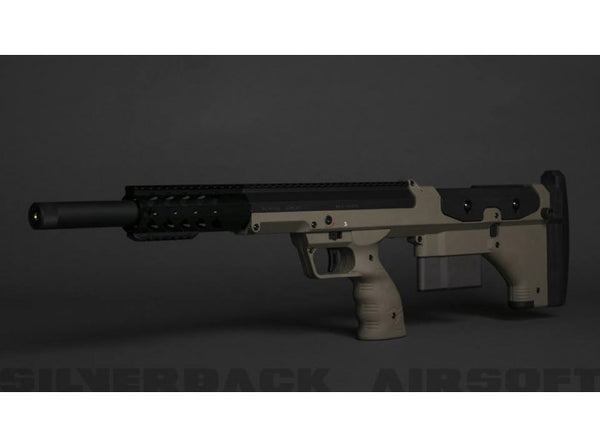 Silverback SRS A1 Sport (20 inches) Push Bolt Licensed by Desert Tech - FDE