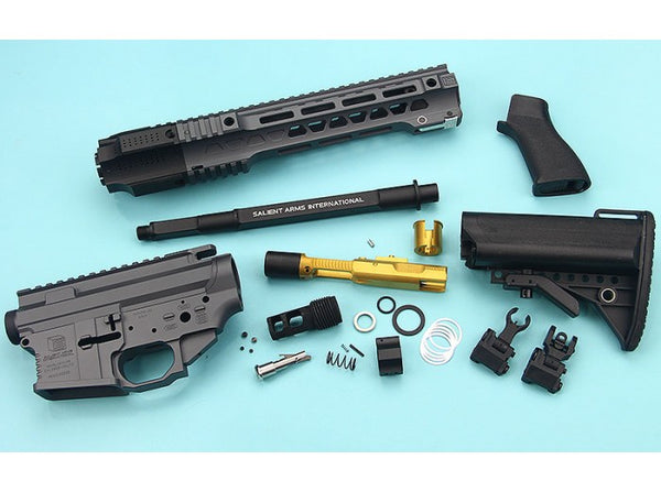 EMG SAI Gas Blow BackKit For Tokyo Marui M4 MWS GBBR (Short) - Cerakote (by G&P)