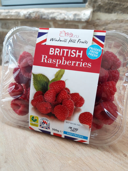 Frozen Raspberries (300g)