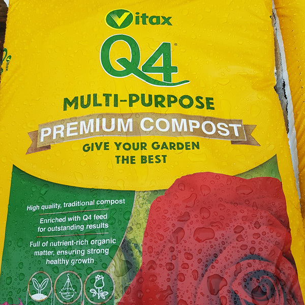 Vitax Q4 Multipurpose Compost 56Ltr