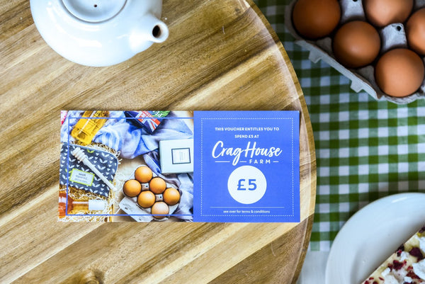 £5 Crag House Farm Voucher