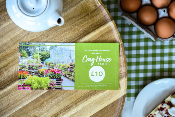 £10 Crag House Farm Voucher