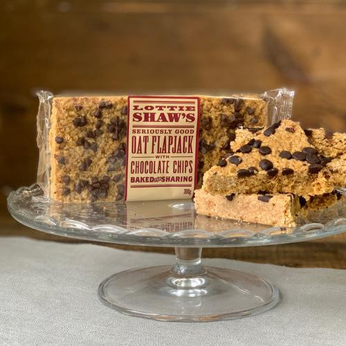 Lottie Shaw's Flapjack with Chocolate Chips (300g)