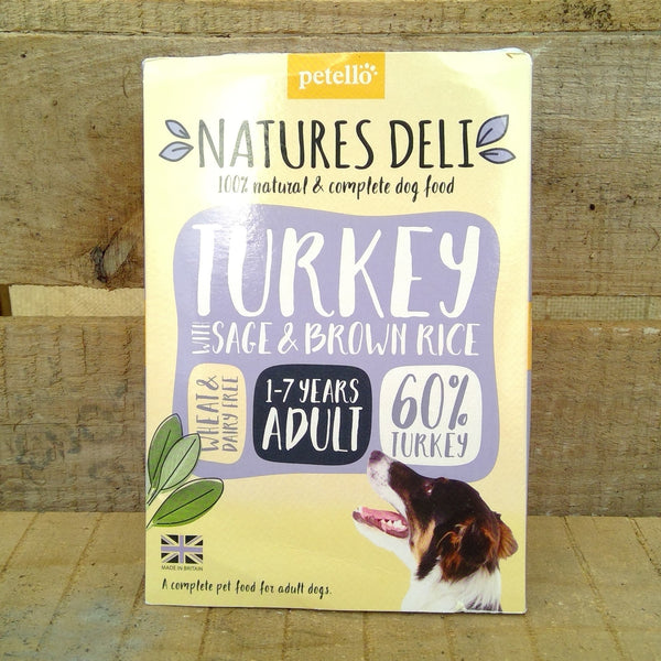 Natures Deli - Turkey, Sage & Brown Rice