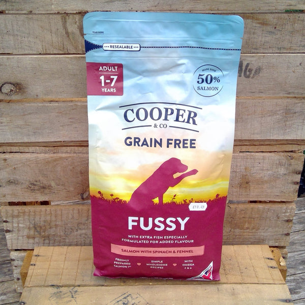 Cooper & Co - FUSSY - Salmon with Spinach & Fennel (1.5Kg)