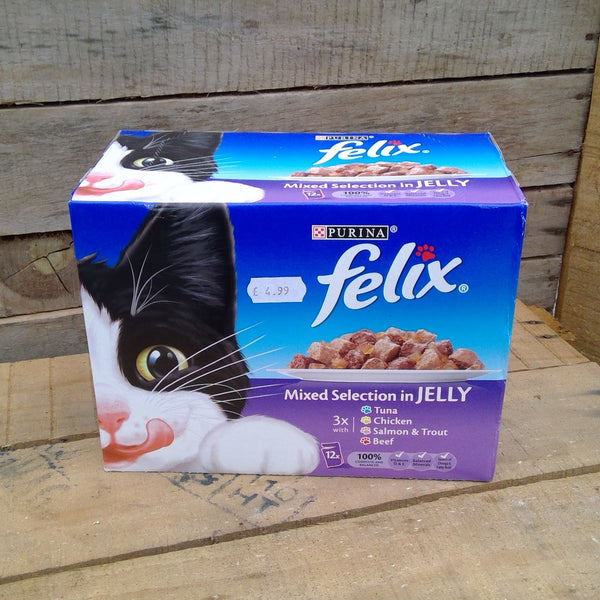 Felix Cat Food - Mixed Selection (12 Pack)