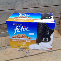 Felix Cat Food - Poultry Selection (12 Pack)
