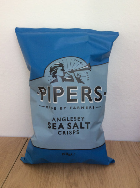 Pipers Crisps - Sea Salt (150g)