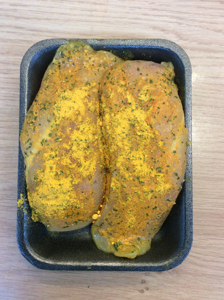 2 Chicken Breasts (Garlic)