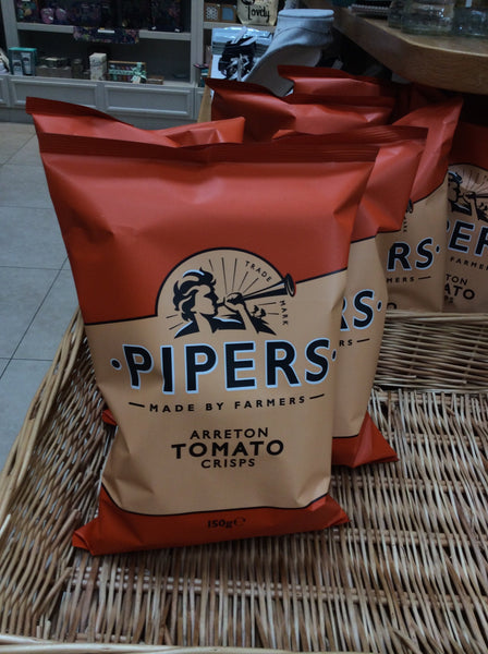 Pipers Crisps - Tomato (150g)